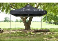 3x3M Black superior POP Up gazebo
