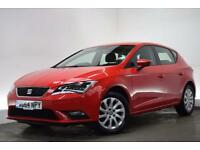 SEAT LEON 1.6 TDI SE TECHNOLOGY 5d 105 BHP (red) 2014