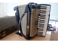 HOHNER VERD III PIANO ACCORDION 120 BASS FULLY WORKING ORDER ONLY £300