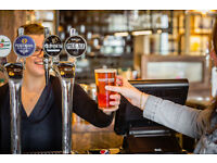 Full and Part Time Bartender/ Waiter - Live Out - Up to £7.70 per hour - The Bootmaker - Chelmsford