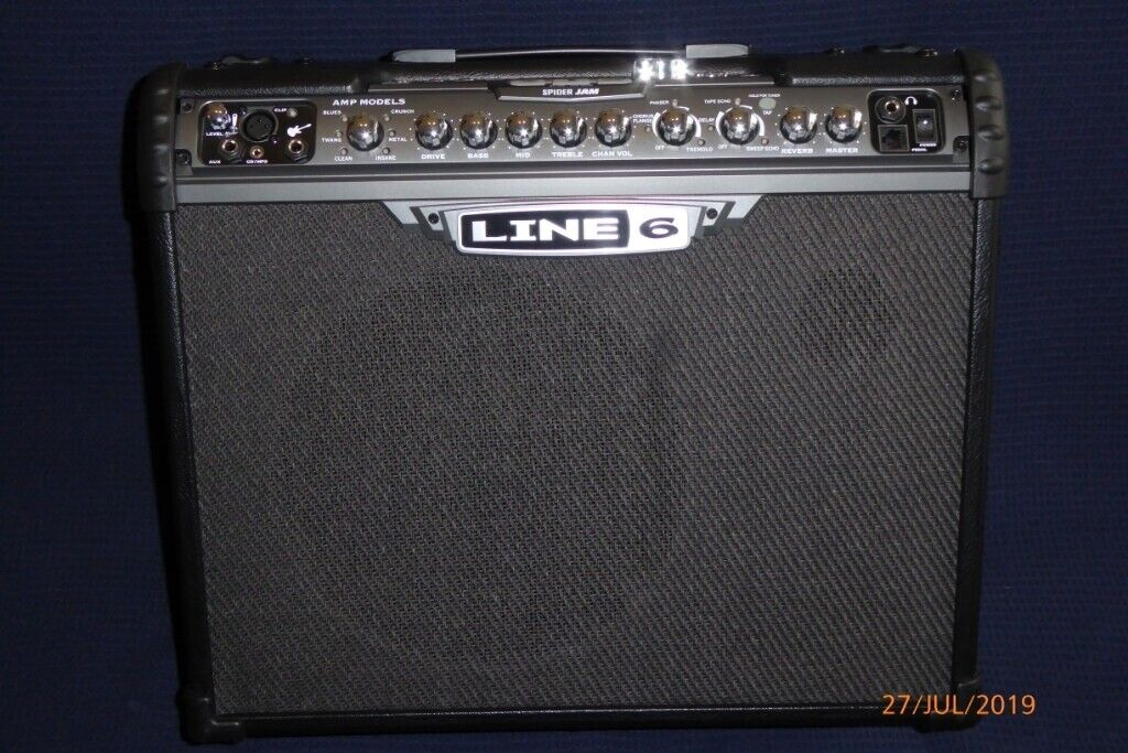 Line 6 Spider JAM 75W Guitar Amp - built in Effects, Looper and Mic/Aux  Channel | in Harrow, London | Gumtree