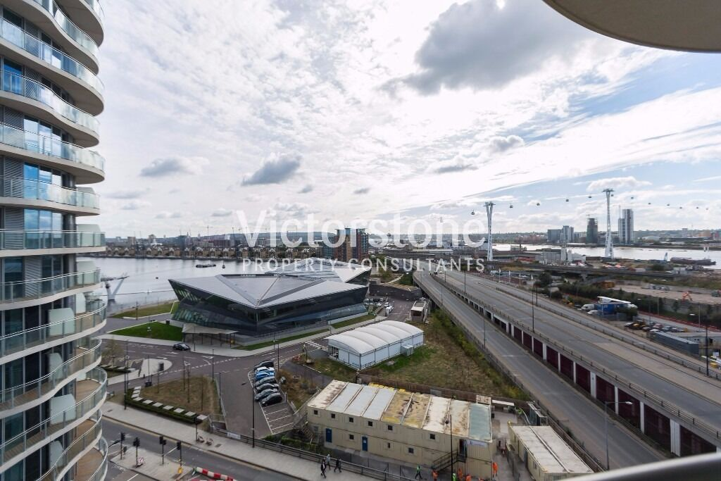 BRAND NEW NEVER LIVED IN ONE BEDROOM APARTMENT IN HOOLA BUILDING CANARY WHARF CANNING TOWN