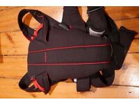 Baby Bjorn Active baby carrier, black and red, like new