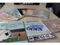 miscellaneous cake deco magazines and books £2 each magazine or book.