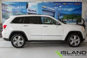 2011 Jeep Grand Cherokee Overland | Leather | Quad-Lift