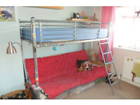 Childs bunk bed with sofa