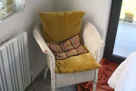 White Lloyd Loom Chair