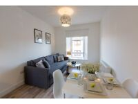 Impressive 4 Bed Flat (3 plus office) upgraded to highest standard. Shared Private Parking & Garden.