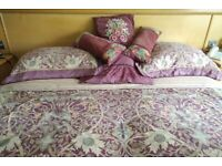Dormer superking bedding and curtains. Bullerswood design. See ad below for prices