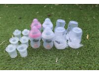 Tommee Tippee Milk Bottles and Milk Powder Dispensers