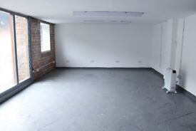 Desk space available in a shared studio