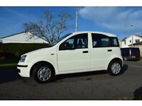 Fiat Panda 2011, White, Petrol, only 22842 miles, 1243cc, £30 Road Tax, Excellent condition