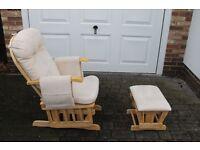 Nursery Rocking Chair.