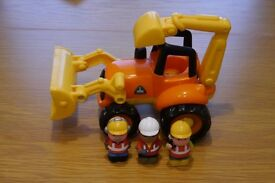 ELC/Early Learning Centre Happyland Digger and Figures