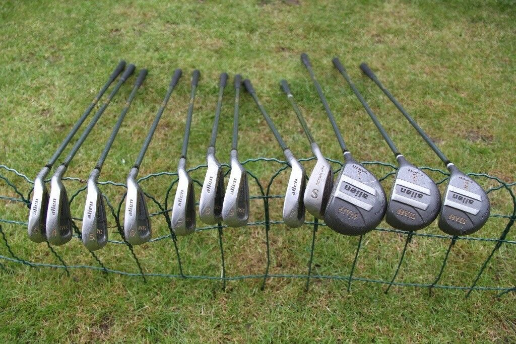 Set of used Carbon Fire Golf Clubs