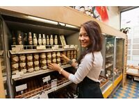 Become a Food Retail Merchandiser! Free Training & Get work experience!
