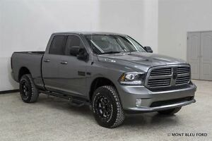 2013 Ram 1500 Sport w/LEATHER, BLUETOOTH 34'' WHEELS !!  *FINANC