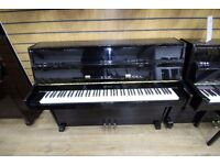 Weber Upright Black Piano at Sherwood Phoenix Pianos