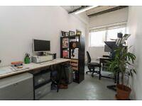 Artist studio in Hackney Wick