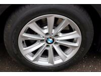 Set of 4 genuine BMW alloy wheels with non-runflat tyres, style 236, F10 F11