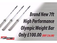 High performance Olympic barbell
