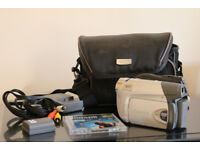 Canon Handy Portable Camcorder with Extras Model DC311