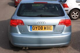 Audi A3 1.9 TDI 2008 only 32000 miles