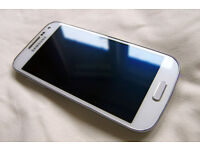 Samsung S4 Mini GT-I9195 LTE, white, unlocked, boxed, with case, very good condition