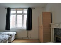 TRIPLE ROOM AVAILABLE NOW!NO DEPOSIT! ALL BILLS INCLUDED-FULLY FURNISHED - HOMERTON (HACKNEY ZONE 2)