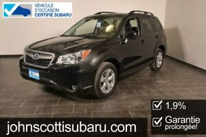 2015 Subaru Forester 2.5i Convenience 1.9 % Extended warranty
