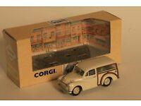 Corgi Classics Morris Minor Traveller die cast model car, 1:43 scale
