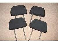 VOLKSWAGEN VW POLO HEADRESTS SEAT HEAD RESTS SET OF 4