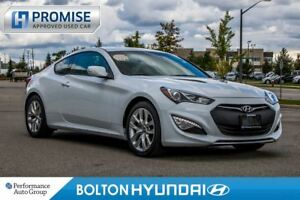 2016 Hyundai Genesis Coupe 3.8L GT Premium. New. Leather. NAVI.