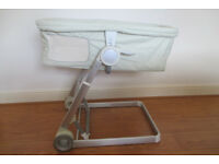 I'Coo 2 in 1 Baby Bassinet and Bouncer