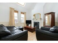 2 double bedroom top floor period apartment with balcony only seconds from Kings College Hospital