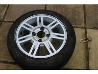 Ford fiesta Alloy wheel with tyre 165/60/14 within the limit £20