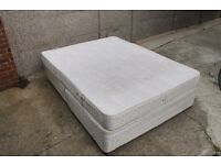 King Size Base with Mattress