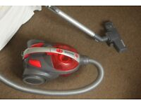 Hoover WhirlWind Cylinder Bagless Vacuum Cleaner – Grey & Red