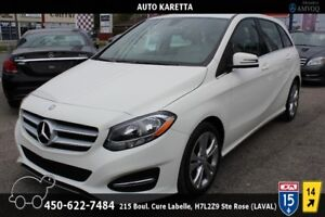 2015 Mercedes-Benz B-Class B250 4MATIC/AWD, CLEAN CARPROOF, CUIR