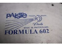 "Paiste Formula 602 22"" Heavy cymbal -Factory drilled for rivets - Swiss - Blue label - '80s"