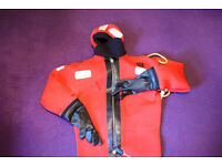 Crewsaver Neoprene Abandonment Immersion Suit, Universal size, CE97 - Never used