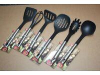 Utensils Spoon Kitchen Tool Set Non stick Kitchen Cooking Tools Kitchenware 6Pcs