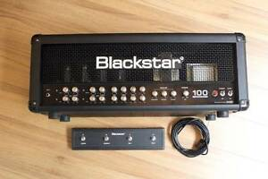 BLACKSTAR 100 ONE SERIES - 4 CHANNEL AMP HEAD Moorooka Brisbane South West Preview