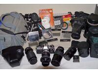 Olympus OM10 SLR (35mm Film) Camera Kit