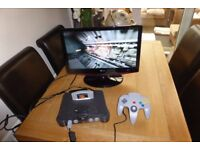 NINTENDO 64 RETRO CONSOLE WITH EXPANSION RAM