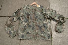 New - Ghillie 3D Leaf / Woodland Camo Over Jacket