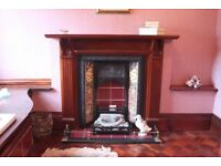 Period style fireplace