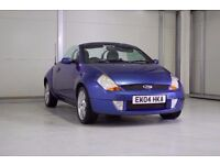2004 Ford Streetka 1.6 Luxury 2dr Convertible New MOT Great For Summer