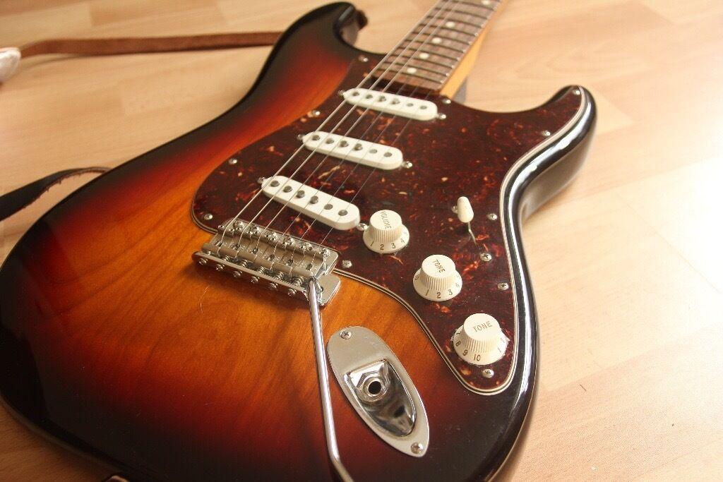 fender john mayer signature guitar stratocaster strat in 3 colour