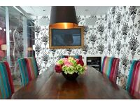 A M A Z I N G: All inclusive price on beautiful desk space, a hop over Chelsea Bridge in SW8